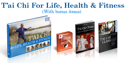 T'ai Chi For Life Health and Fitness Full Package with bonus items